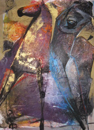 Untitled Horse Painting