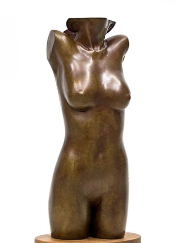 Galetea Bronze Sculpture AP 1988 by Frank Gallo