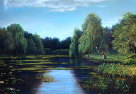 Untitled Landscape  (Pond)