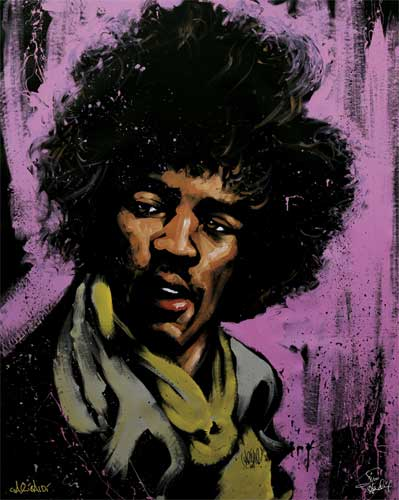 Jimi Hendrix Purple Haze AP 2008
