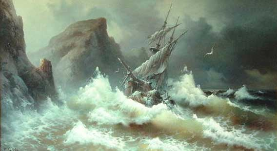 Rough Sea 1978