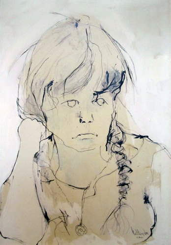 Portrait of Heidi 1962