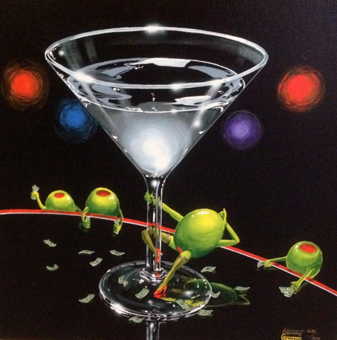 Dirty Martini 2003 by Michael Godard