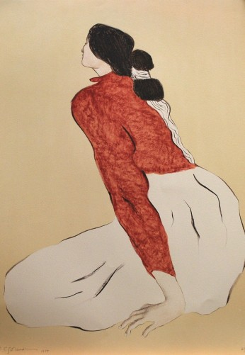 Untitled (Woman in Red Jacket) 1979