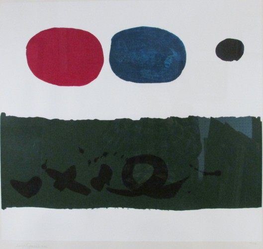 Green Foreground 1972 by Adolph Gottlieb