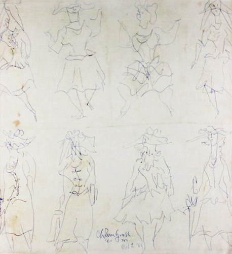 Women Drawing 1961