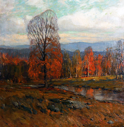 Late October in the Catskills 1930