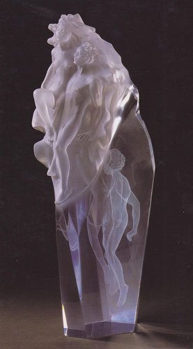 Born of Light Acrylic Sculpture