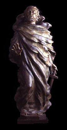 Saint Paul 2004 Bronze Sculpture