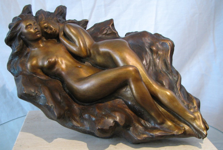 Interlude Bronze Sculpture 1990