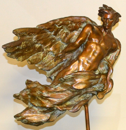 Angel Bronze Sculpture 1992