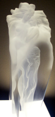 First Light Acrylic Sculpture 1989