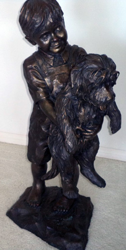 Heavy Load Bronze Sculpture 2004