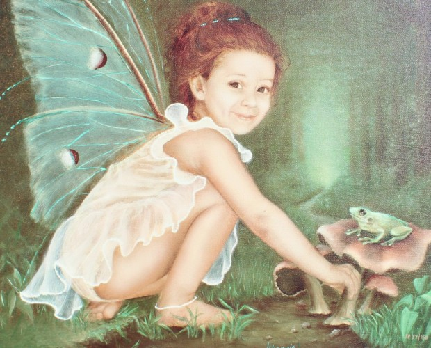 Fairy With Frog Prince AP 2004