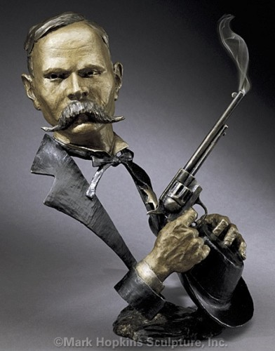 Wyatt Earp Bronze Sculpture