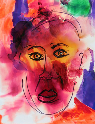 Original Face 2008 by Anthony Hopkins