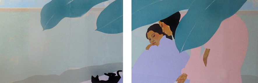 Untitled Diptych 32x94