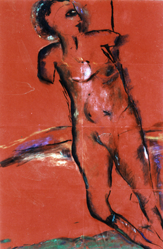 Walking, Kneeling Figure 1991