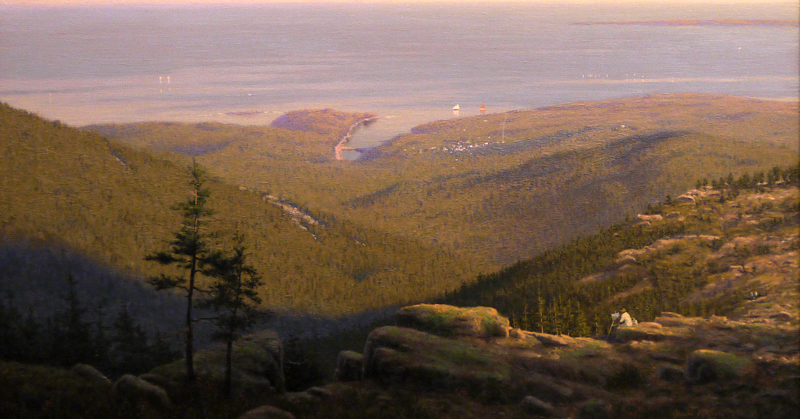 View of the Atlantic From Cadillac Mountain