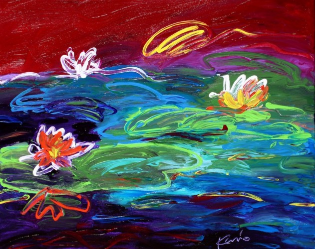 Water Lillies #4 2012
