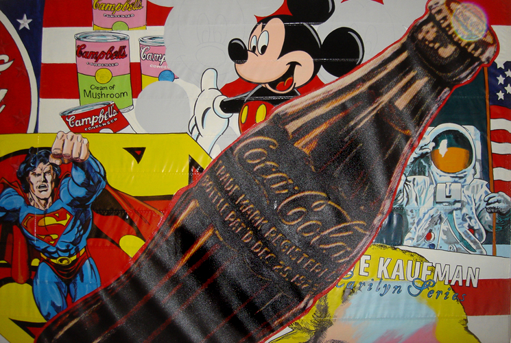 America The Beautiful (Mickey Mouse) 2003  60x96