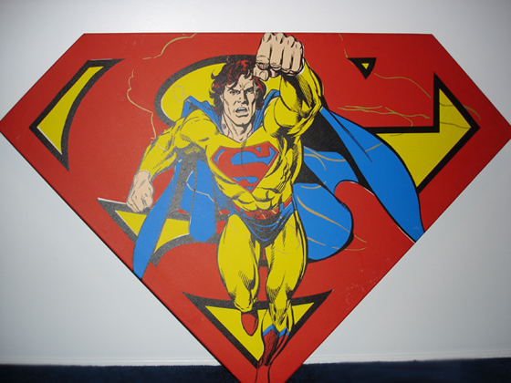 Superman Shield (Red)
