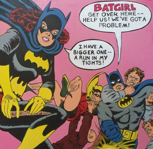 "Batgirl from ""Batman"" 1995"