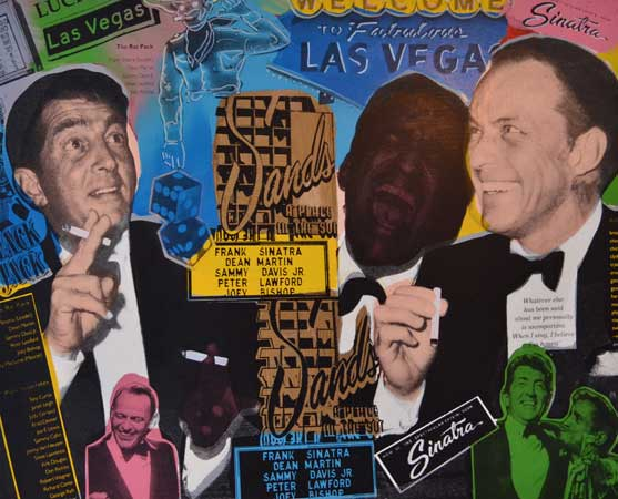 Rat Pack Sands Casino Las Vegas