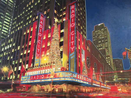 Radio City Music Hall 2000 50x72 by Steve Kaufman