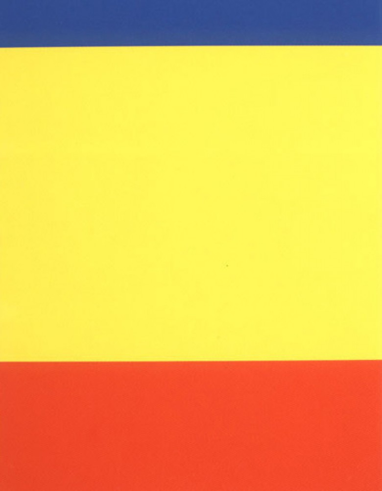 Blue / Yellow / Red 2000 by Ellsworth Kelly