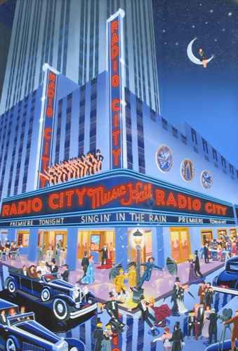 Radio City Music Hall AP Remarque