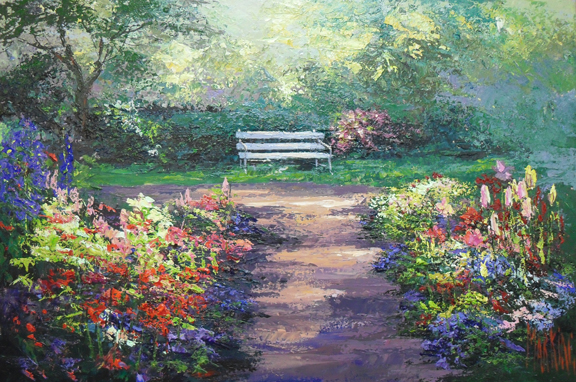 Painted Bench 2011
