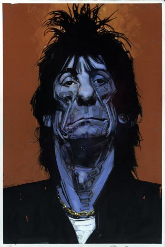 Orange/Blue (Ron Wood) 2003