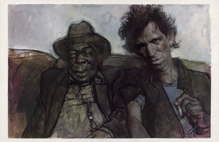 Mr. Lucky Meets Mr. Happy (Keith Richards and John Lee Hooker) 1992