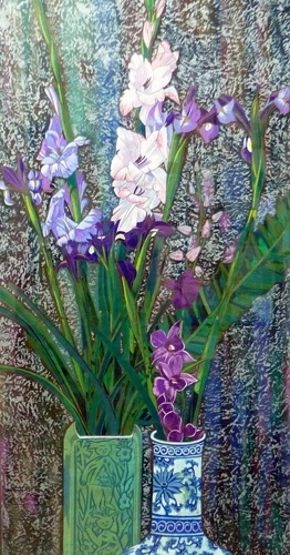 Orchids And Irises