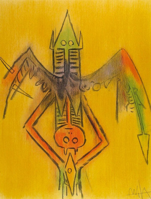 Innocence, From Pleni Luna 1974 by Wifredo Lam