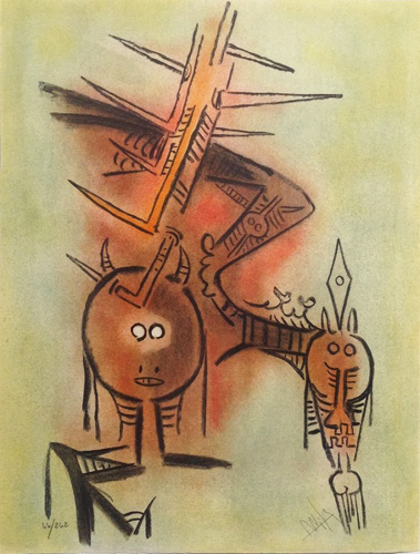 Belle Epine, From Pleni Luna 1974 by Wifredo Lam