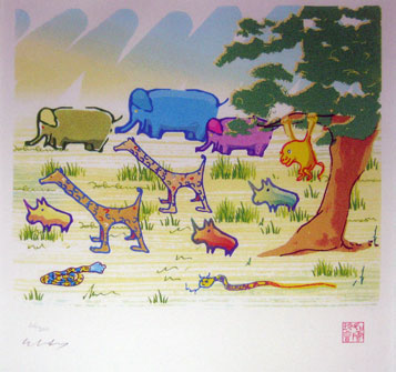A Herd Moving 1999