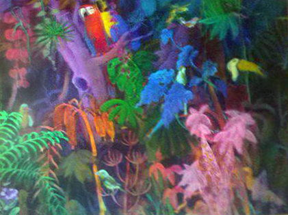 Untitled Tropical Birds 1984