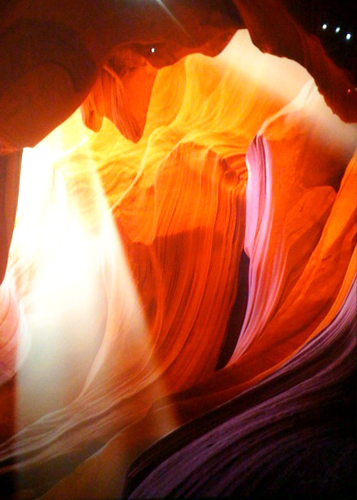 Spiritual Light (Antelope Canyon, Arizona)