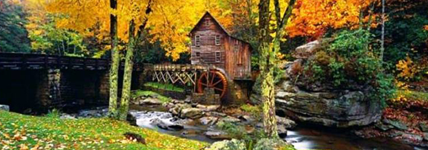 Babcock Mill by Peter Lik