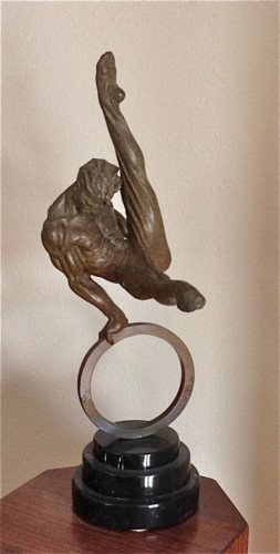 Gymnast  (1/8 Size) Bronze Sculpture 1995