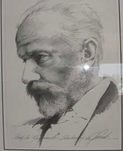 Tchaikovsky Drawing