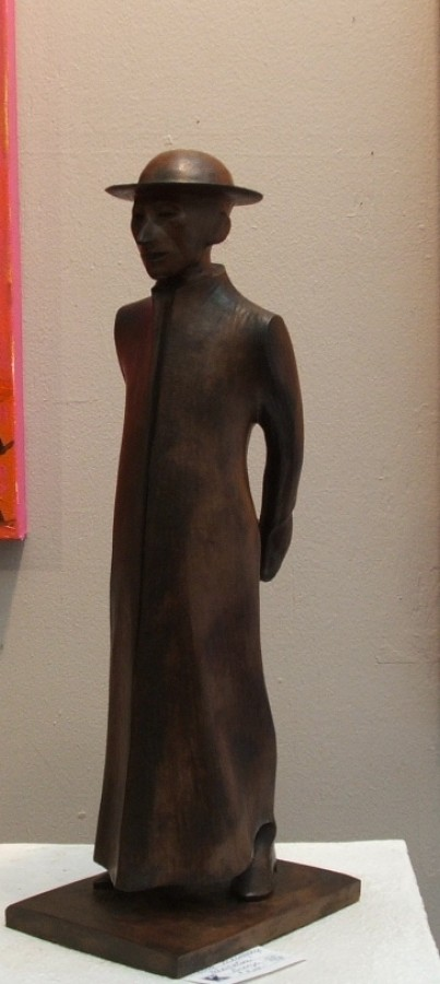 Meditation Bronze Sculpture 2979 by Harry Marinsky