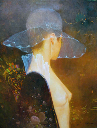 Untitled Woman With Hat 1985