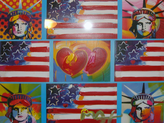 Patriot Series Four Liberties Two Hearts Unique