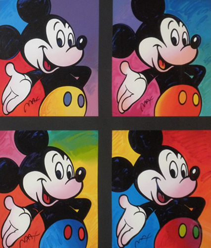 Mickey Mouse Suite of 4 Serigraphs