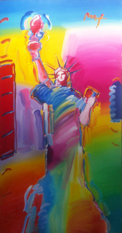 Statue of Liberty Ver.1#1 2010 72x36