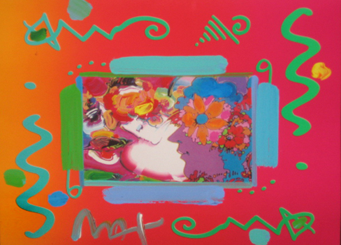 Flower Blossom Lady Collage 2000