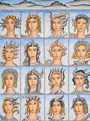 Sixteen Faces of Nymphs 2011
